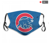 Chicago Cubs Face Mask - Reuseable, Fashionable, Several Styles