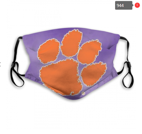 Clemson Tigers Face Mask - Reuseable, Fashionable, Several Styles