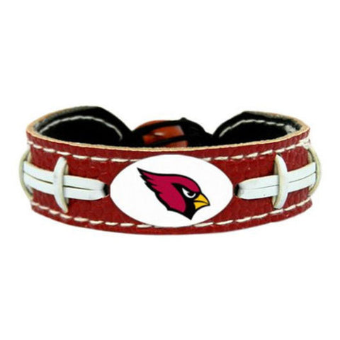 Arizona Cardinals Bracelet - Leather Football Bracelet