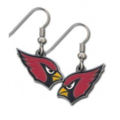 Arizona Cardinals Earrings - Logo Dangle Earrings