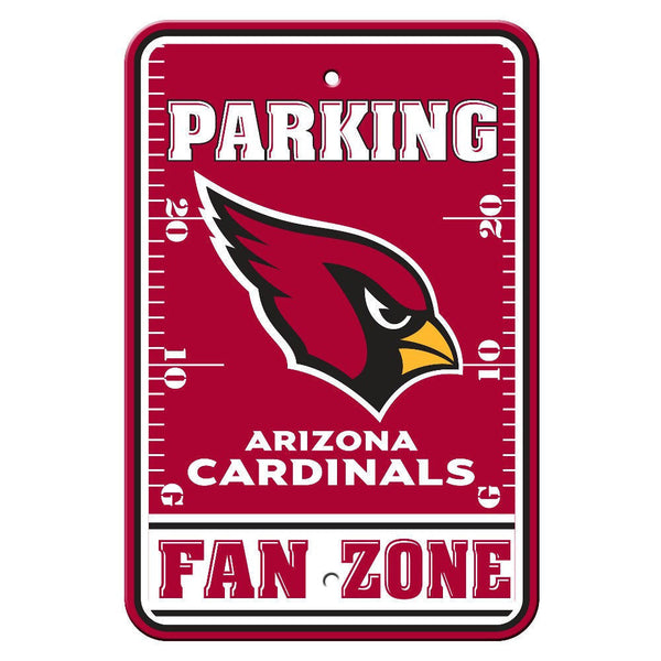 "Arizona Cardinals Sign - Parking Sign - 12"" x 18"""