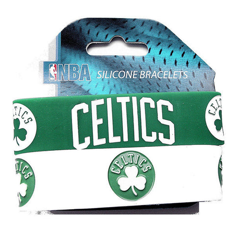 Boston Celtics Bracelet - Rubber Wrist Bands