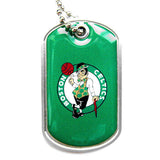 Boston Celtics Necklace - Dog Tag Necklace