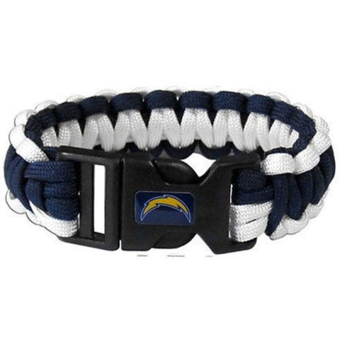 Los Angeles Chargers Survivor Paracord Bracelet