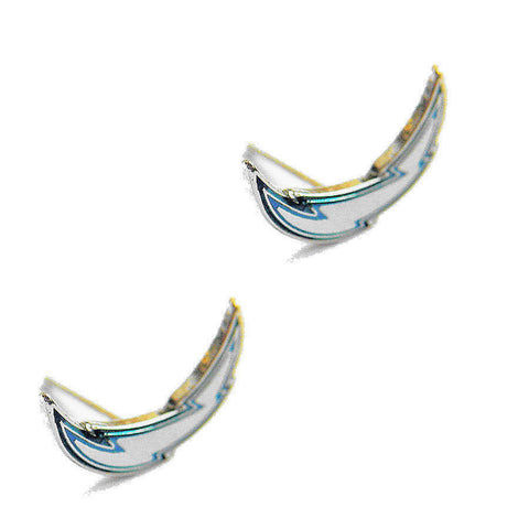 Los Angeles Chargers Logo Stud Earrings