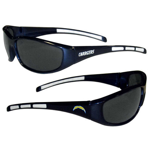 Los Angeles Chargers 3 Dot Team Logo Series Sport Sunglasses