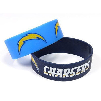 Los Angeles Chargers Rubber Wrist Bands