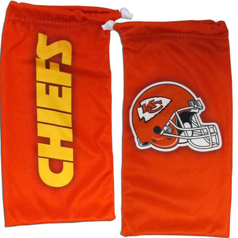 Kansas City Chiefs Sunglasses - Microfiber Sunglasses Case