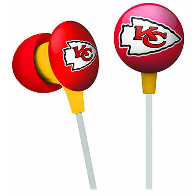 Kansas City Chiefs iHip Ear Buds