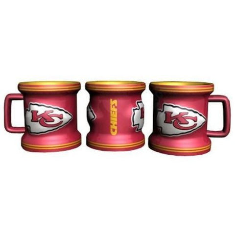 Kansas City Chiefs Mug Shot Glass (2 oz.)