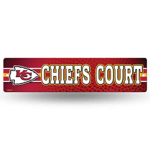 "Kansas City Chiefs Sign - Street Sign - 3.75"" x 16"""