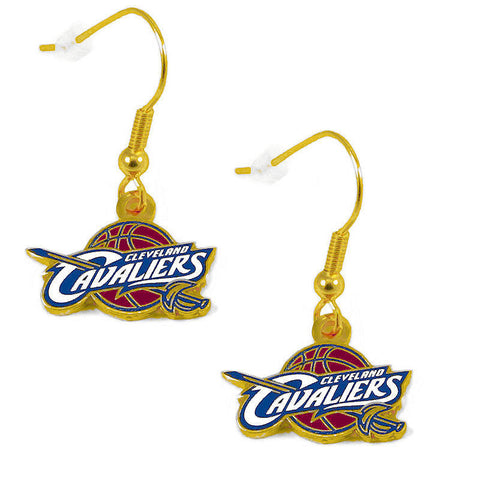 Cleveland Cavaliers Earrings - Logo Dangle Earrings