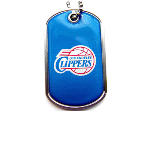 Los Angeles Clippers Dog Tag Necklace