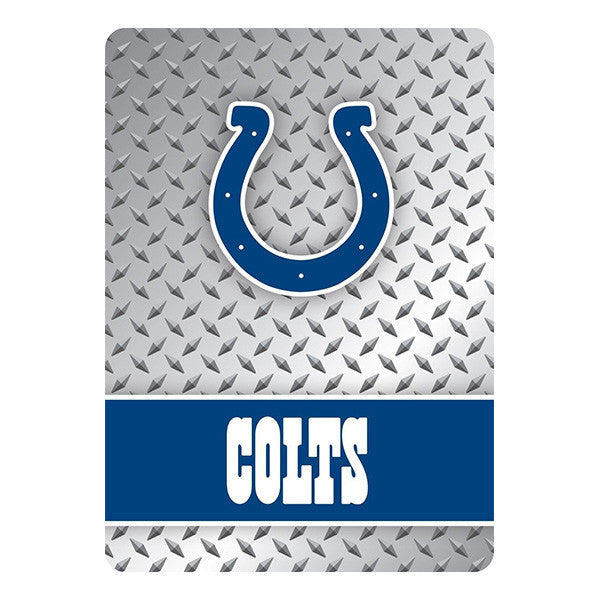 Indianapolis Colts Playing Cards -Diamond Plate