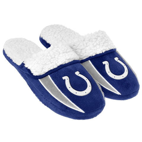 Indianapolis Colts Slippers - Sherpa Slide Slippers