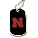 Nebraska Cornhuskers Dog Tag Necklace