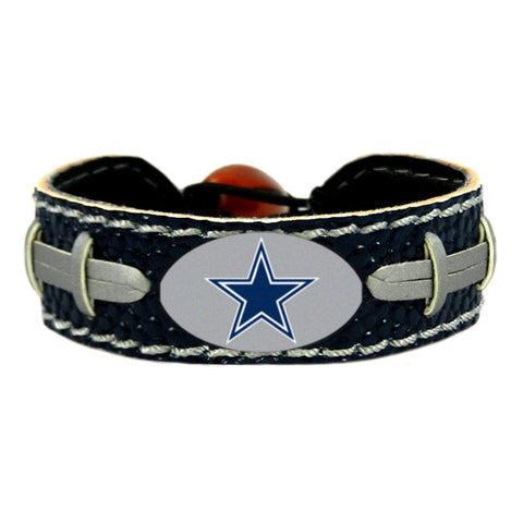 Dallas Cowboys Bracelet - Leather Football Bracelet
