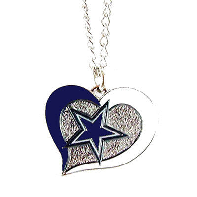 Products tagged dallas cowboys page 4 sportsfanstudio dallas cowboys necklace swirl heart logo necklace aloadofball Images