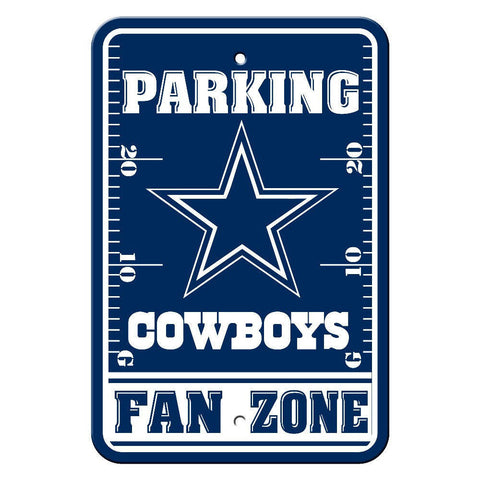 "Dallas Cowboys Sign - Parking Sign - 12"" x 18"""