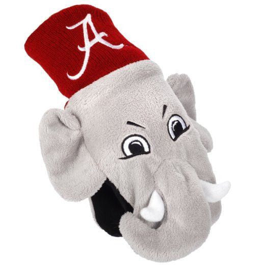 Alabama Crimson Tide Gloves - Insulated Children's Mascot Mittens