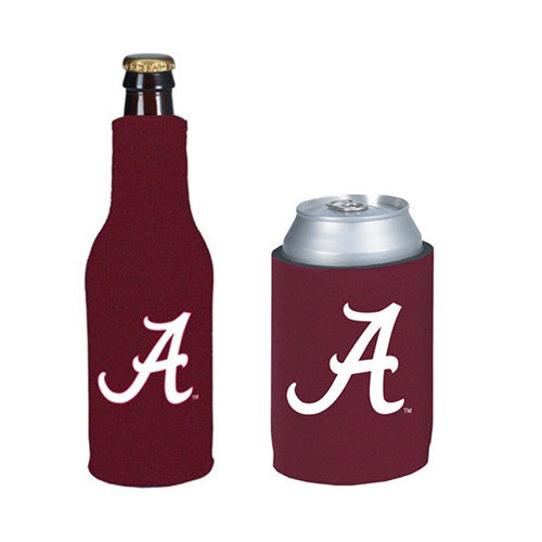 Alabama Crimson Tide Koozie - Can & Bottle Combo