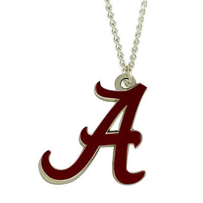 Alabama Crimson Tide Necklace - Logo Charm