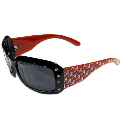 Alabama Crimson Tide Sunglasses - Ladies Rhinestone Sunglasses.