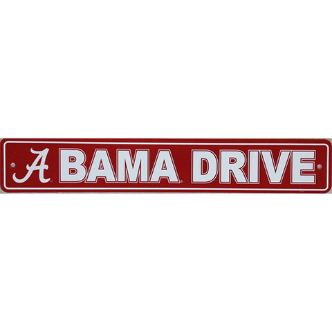 "Alabama Crimson Tide Sign - Street Sign - 4""x24"""