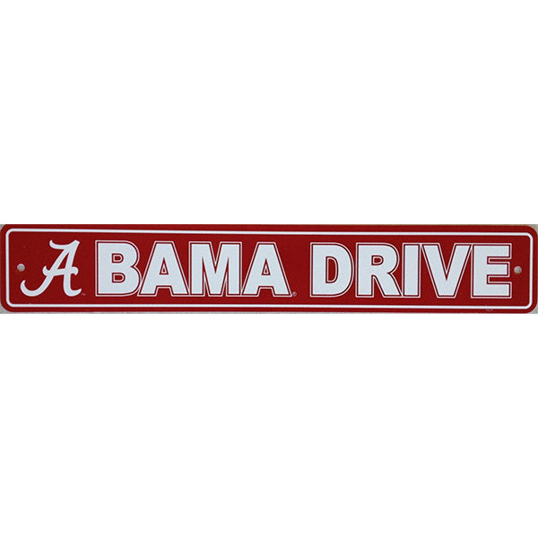 "Alabama Crimson Tide Street Sign - 4""x24"""