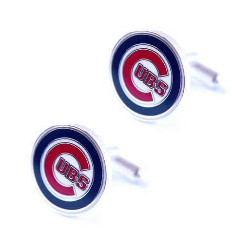 Chicago Cubs Cuff Links - logo