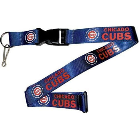 Chicago Cubs Lanyard - Detachable Keychain