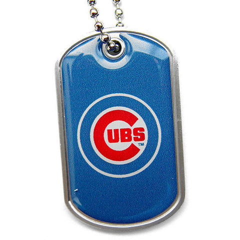 Chicago Cubs Necklace - Dog Tag Necklace