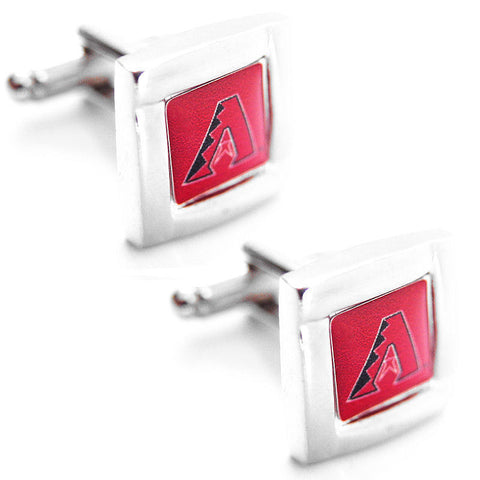 Arizona Diamondbacks Cuff Links - Square