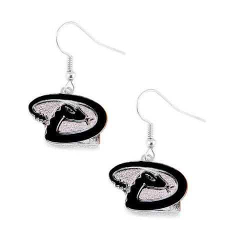 Arizona Diamondbacks Earrings -  Logo Dangle Earrings