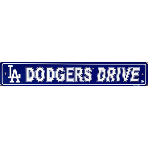 "Los Angeles Dodgers Sign - 4""x24"""