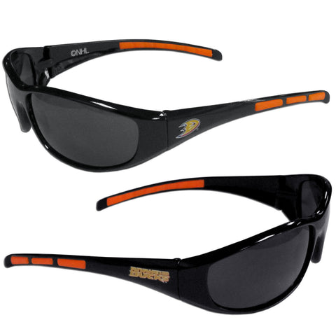 Anaheim Ducks Sunglasses - 3 Dot Team Logo Series Sport Sunglasses
