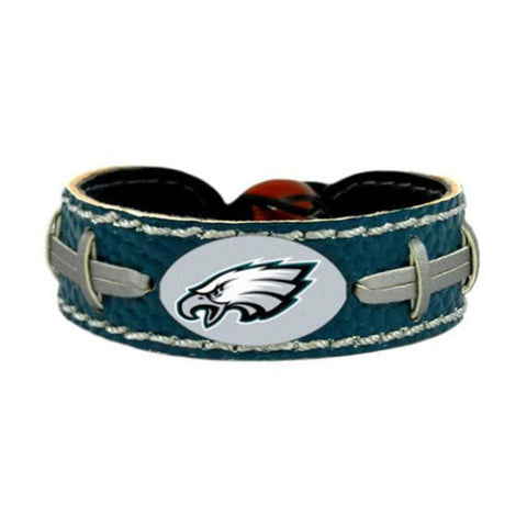 Philadelphia Eagles Bracelet - Leather Football Bracelet