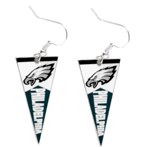 Philadelphia Eagles Earrings - Pennant Earrings