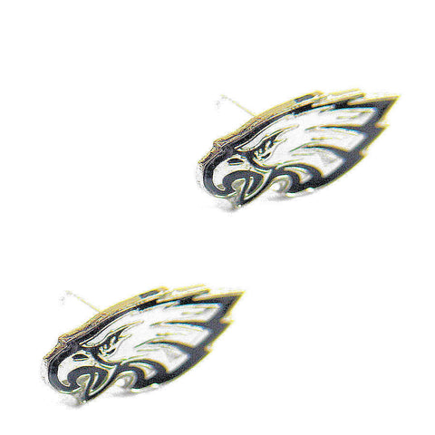 Philadelphia Eagles Earrings - Logo Stud Earrings