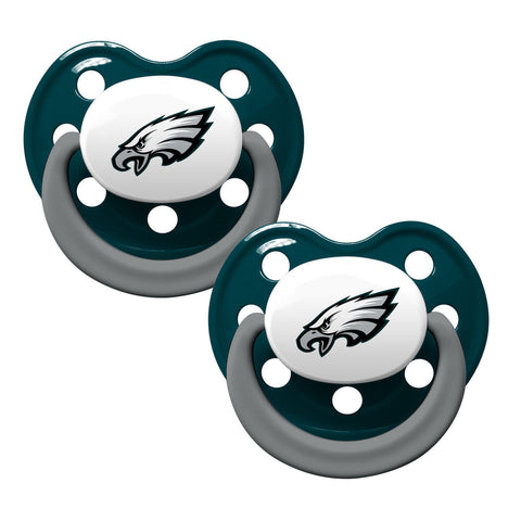 Philadelphia Eagles Baby Pacifiers - Pack Of 2