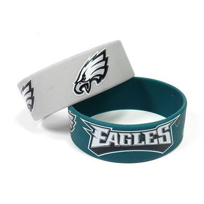Philadelphia Eagles Bracelet - Rubber Wrist Bands