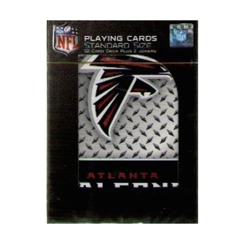 Atlanta Falcons Playing Cards -Diamond Plate