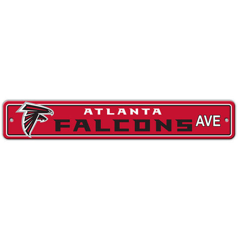 "Atlanta Falcons Sign - Street Sign - 4""x24"""