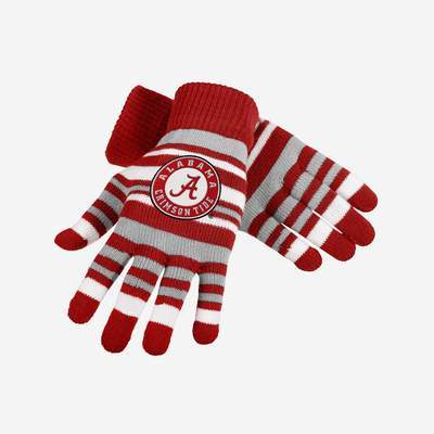 Alabama Crimson Tide Gloves - Stretch Gloves