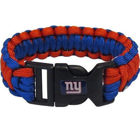New York Giants Bracelet - Survivor Paracord Bracelet