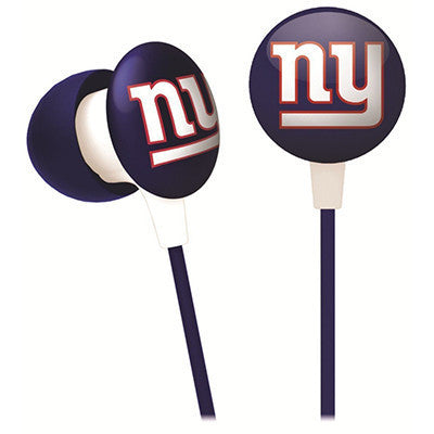 New York Giants iHip Ear Buds
