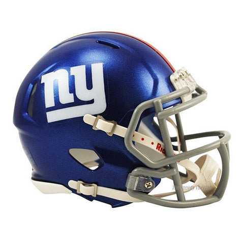 New York Giants Helmet - Riddell Speed Mini Helmet