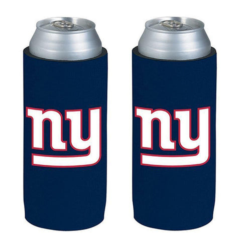 New York Giants Koozie - Ultra Slim Koozies (2-Pack)