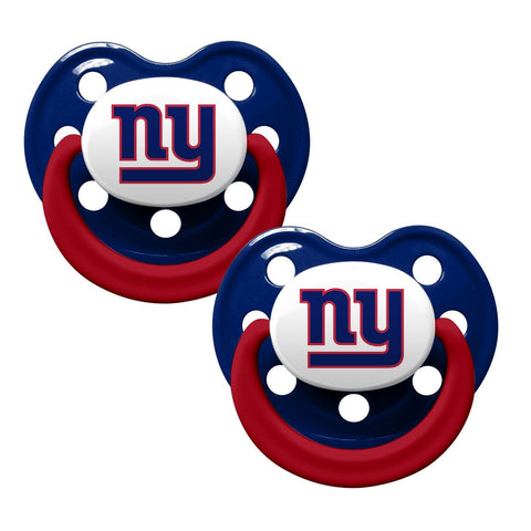 New York Giants Baby Pacifiers - Pack Of 2