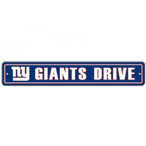 "New York Giants Sign - 4""x24"""